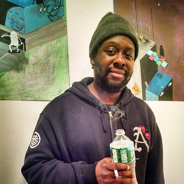 The solo art exhibit of NYC street artist Royce Bannon, aka Roycer700 at 17Frost, Williamsburg