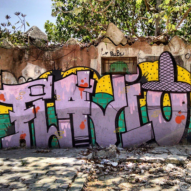 Cancun graffiti, Flavio