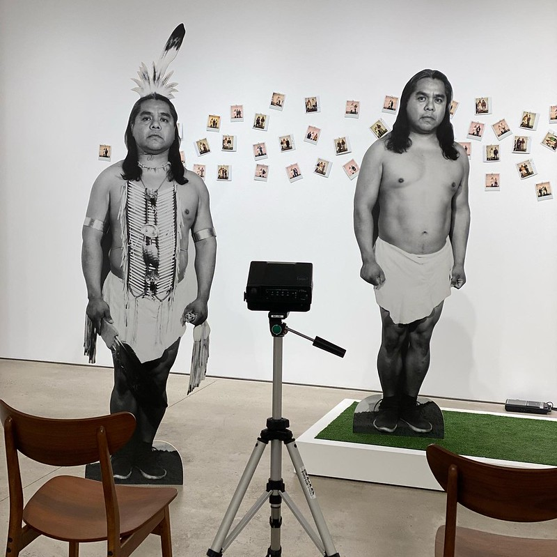 2011-FA-James_Luna-Take_A_Picture_With_An-Indian-Garth_Greenan_Gallery/