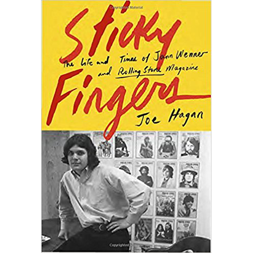 Book cover of Sticky Fingers
