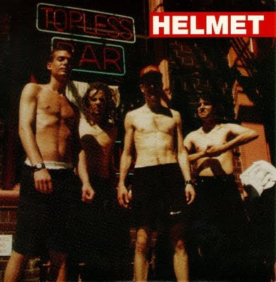 A 1992 profile of the punk rock band Helmet
