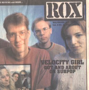 A story about Velocity Girl on tour, in Rox music